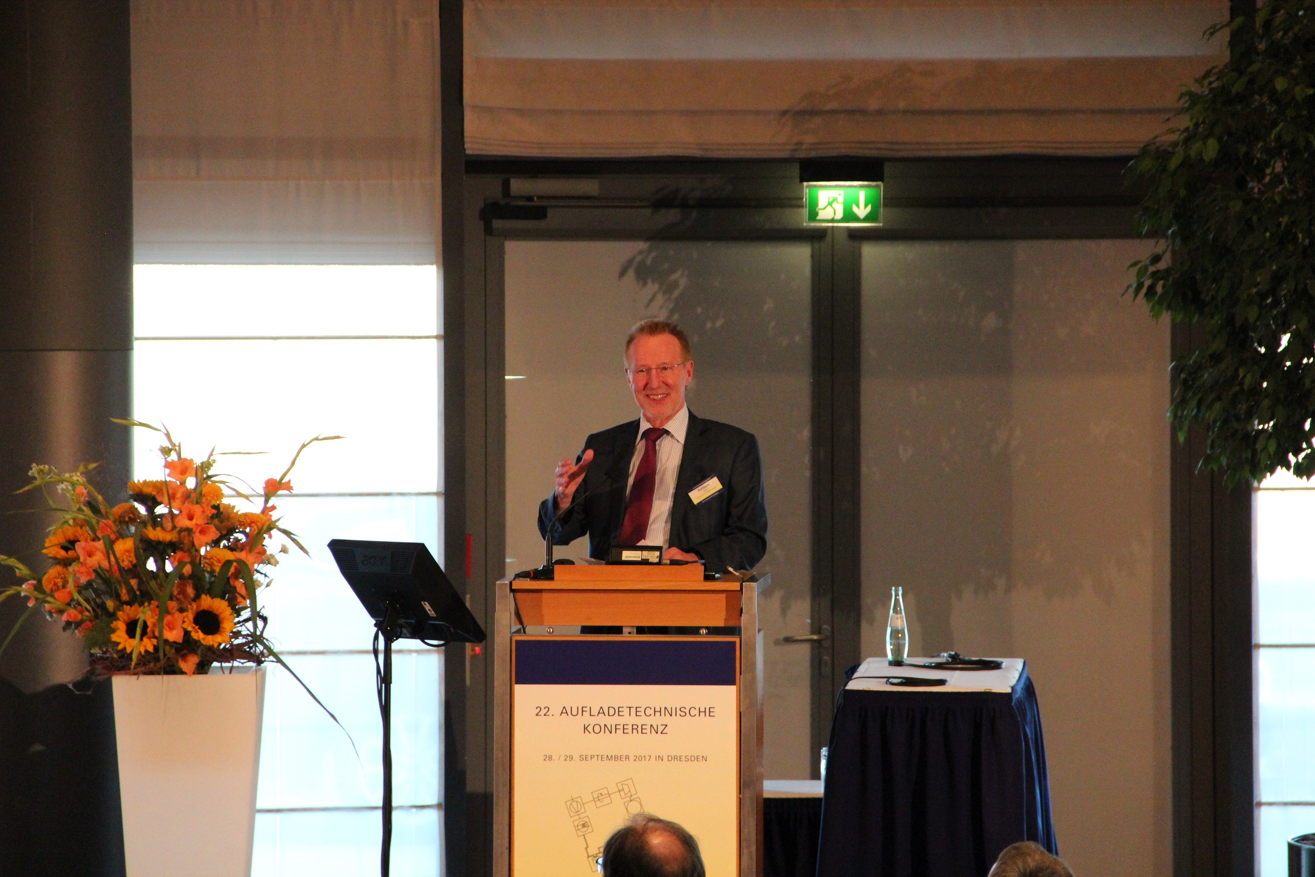 Prof. Dr.-Ing. H. Zellbeck, Conference Chairman
