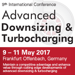 9th International Conference Advanced Downsizing & Turbocharging 2017