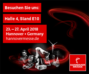 Hannover Messe: 23. - 27. April 2018
